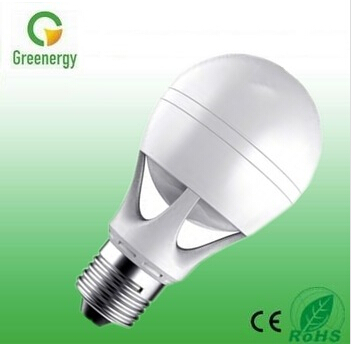 Greenergy China Ningbo led bulb factory Exclusive Design Big angle 360 degree led bulb High lumen 6W 630lm LED Bulb