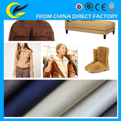 Wholesale suede fabric for Sofa,home textile,bag,coat,shoes