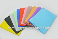 Silicone Soft Skin Tablet Case Back Cover Glossy Case for iPad 5 for iPad Air