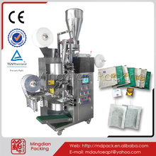 Mingdian MD-168 tea pouches, tea sachet , pillow shape tea bag packing machinery