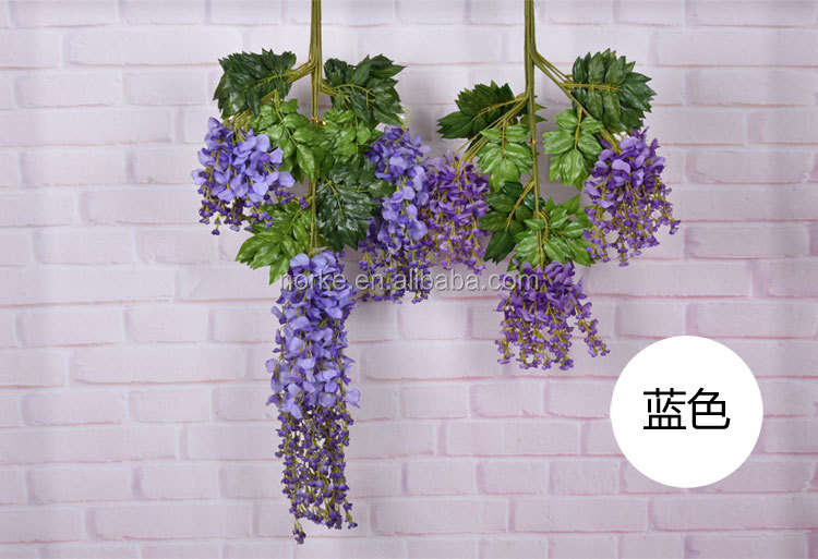 artificial fake hanging vine garland for home decoration