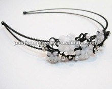2012 new design crystal flower hair hand jewelry