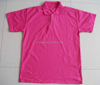 men's leisure wear,polyester & cotton polo shirt,at a low price