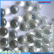 Popular china supplier clear glass balls,wholesale water drop flat bottom glass balls