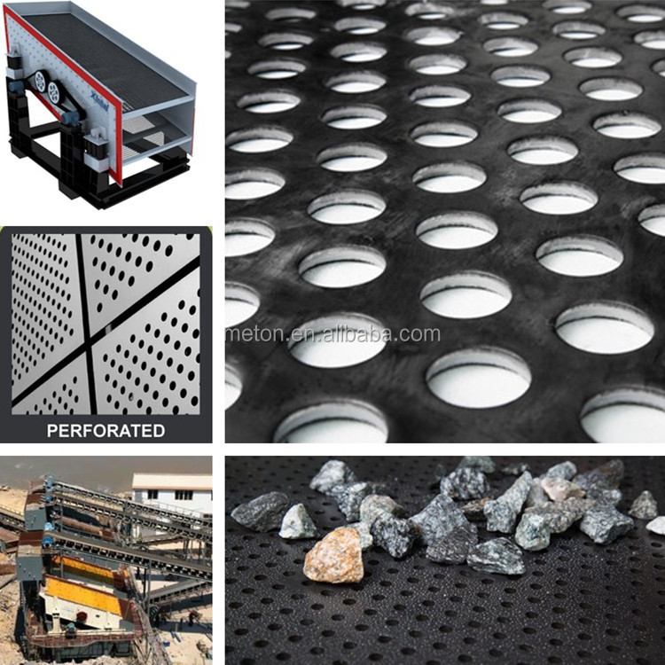 12MM Quarry Screen Perforated Metal Screen Perforated Sheet