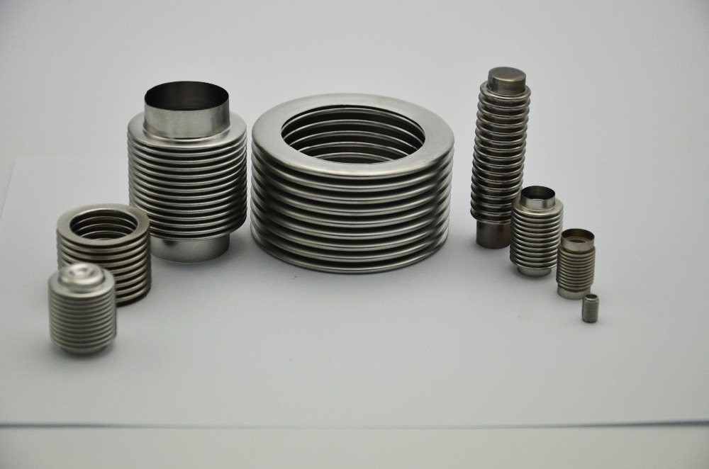 0.1mm thick strong fatigue resistant stainless steel expandable metal bellows with cheap price