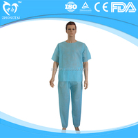 disposable non woven surgical washing gown and pajamas
