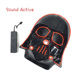 Concert Event Party Supplies EL Cold Light Drama Dancing Mask Movie Theme Figure Neon Led Strip Masquerade Flashing Mask Diy Toy