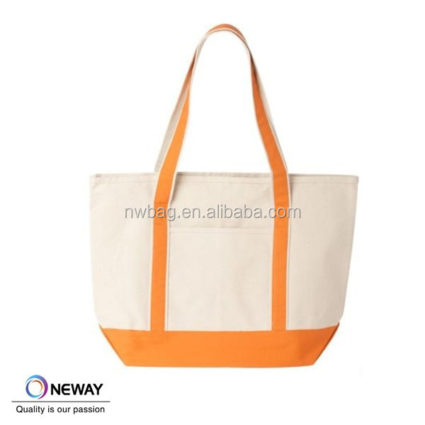 Eco Friendly Cotton Canvas Beach Tote Bag