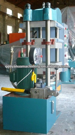 2012 hot sale 4 layers Solid tyre for forklift making machine/solid tyre tire vulcanizing press machine