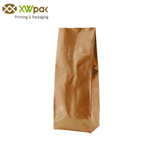 Food Grade 500g Aluminum Foil Side Gusset Coffee Packaging Bags With Valve