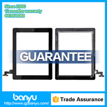 100% original digitizer replacement touch screen for ipad 2