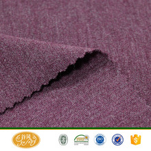 Wholesale double sided acrylic and cotton blend fabric for thermal underwear
