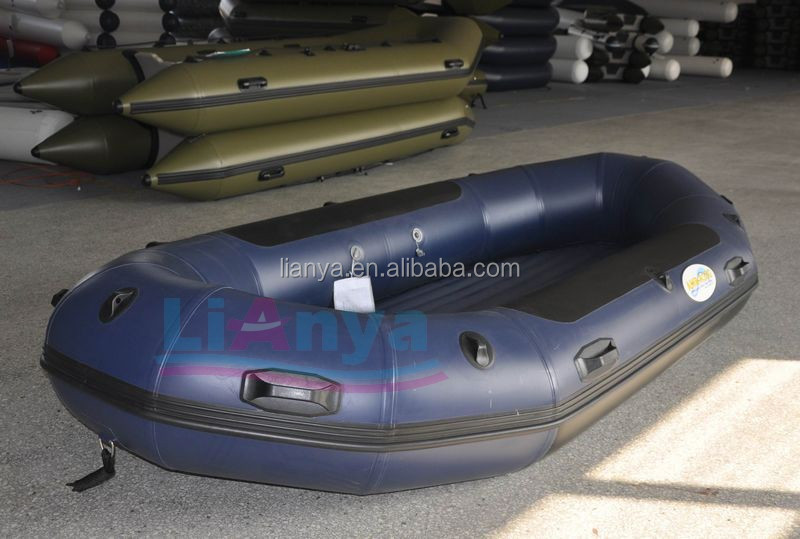 Liya 2.8-4.6m foldable inflatabe rafting boat with pedal for sale