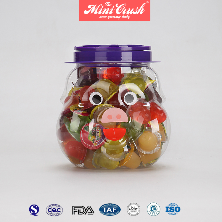 Assorted Mini Fruit Jelly/ Beetle Jelly/jelly Fruit