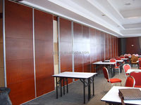 Comfortable Sliding Wooden Room Divider For Office