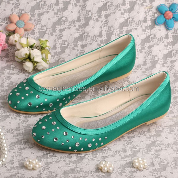 Brand Crystal Trendy Casual Women Shoes for Wedding
