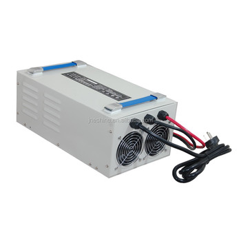 High Quality Sweeper Truck Battery Charger Manufactory with 110v 220v Input