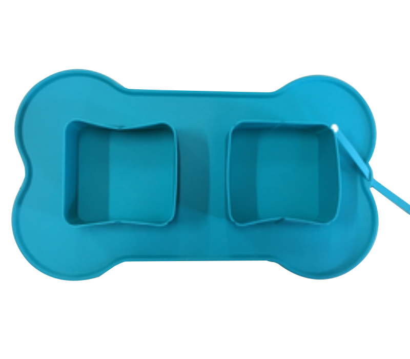 Custom Collapsible Foldable Silicone Dog Bowl Food Mat Pet Food Feeder