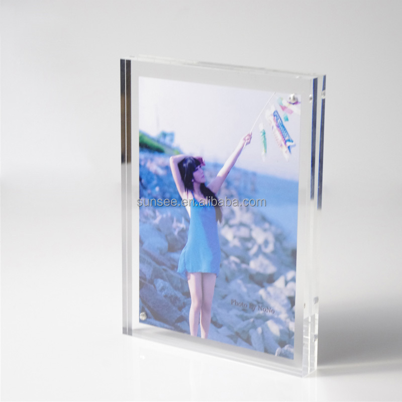 Acrylic funia Picture Frame with colorful design, new for 2015