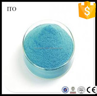 High quality Ito Film used Indium Tin Oxide, Blue 50nm Particle Size ITO Powder