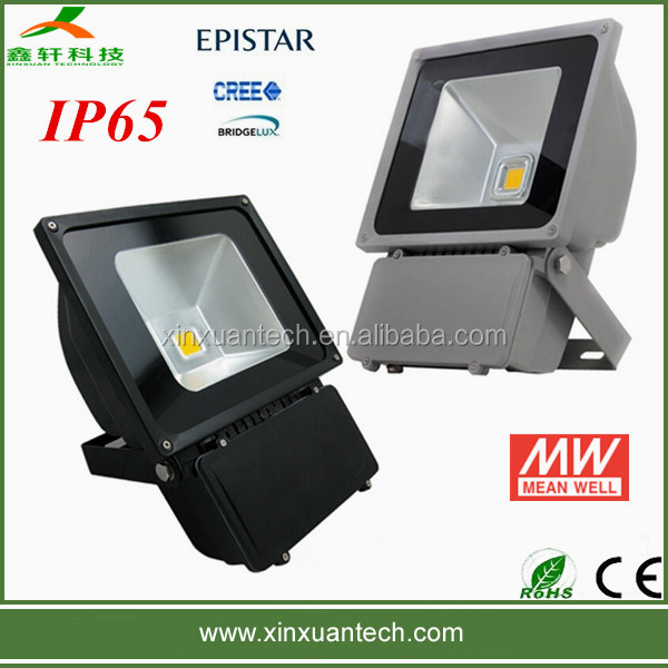 Outdoor waterproof 110v 80w led flood light projectors