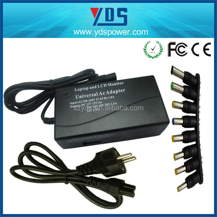 big sales 70W universal laptop adapter automatic voltage for most brand of laptops and lcd univer laptop charger