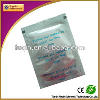 CE TUV FDA OEM silver bamboo detox foot patch with plaster