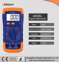Pocket low price digital multimeter A830L