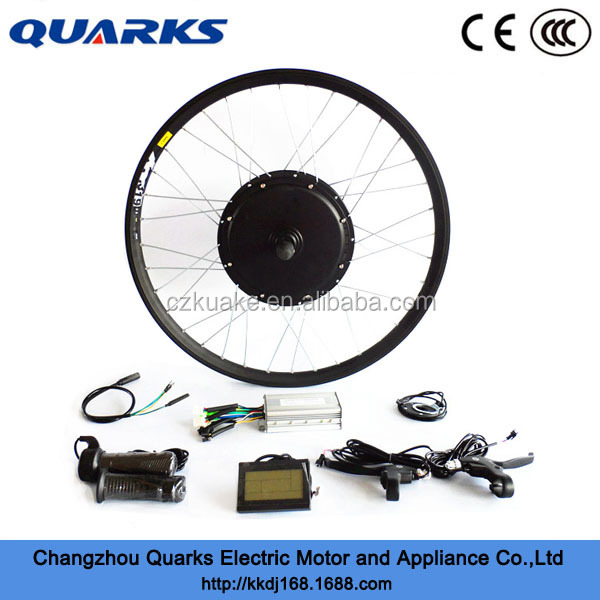 Fat Tire Electric Motor Kit: 2015 New Fat Tire Ebike Motor Kit 3000w Electric Bicycle