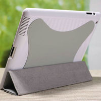 for ipad 2 rotating magnetic leather case