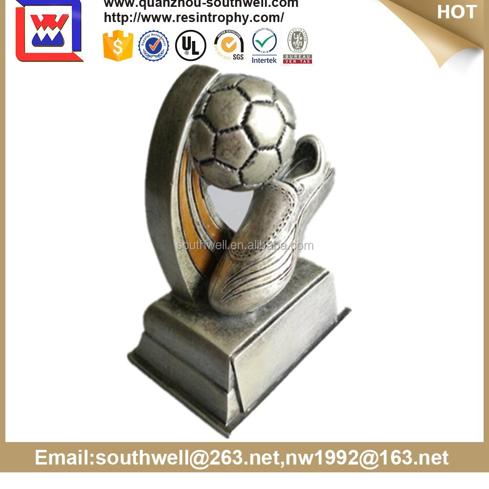 resin Sport Award Crystal Crystal Football Award and Trophies