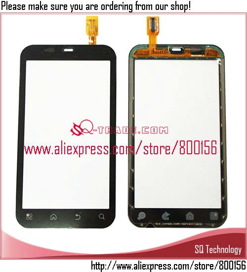 China for Motorola ME525 MB525 Defy Digitizer Touch Screen Black Color Larger Quantity in Stock