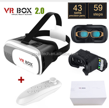 "New Virtual Reality VR BOX 2.0 Version 3D Glasses Google Cardboard VR Glasses 3D Video Movie Game for 3.5"" - 6.0"" Smart Phone"