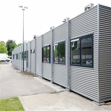 mobile prefab container house, high quality, resonable price and elegant design, used as carport,home, office, sentry box