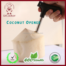 Food grade Stainless steel and plastic portable durable Coconut Opener