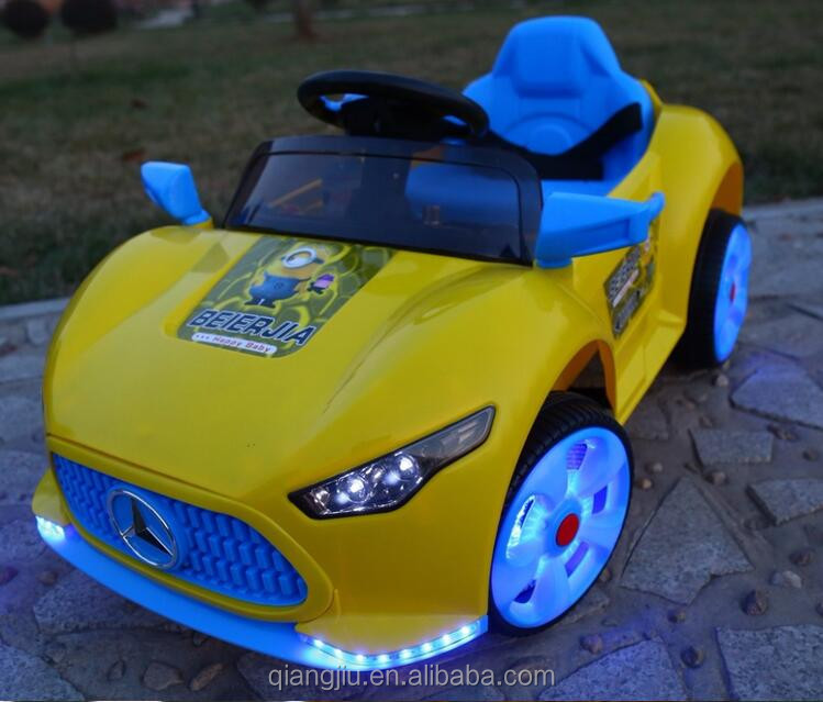 R / C electric toy car children ride on with LED light
