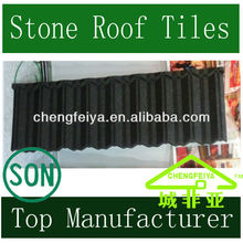 Colorful Stone Chip Coated Steel Roof Tile