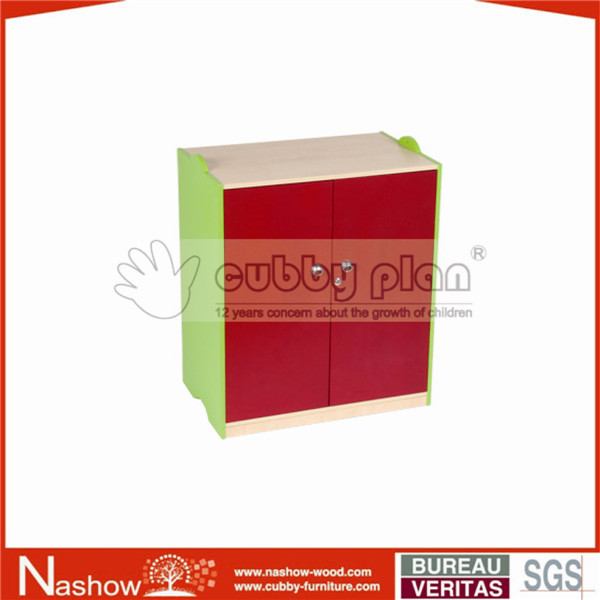 Cubby Plan CB-008 solid wooden kid cupboard Nursery furniture