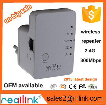Reallink Wireless Repeater 10W 2.4Ghz 40dBm outdoor WiFi Signal Booster