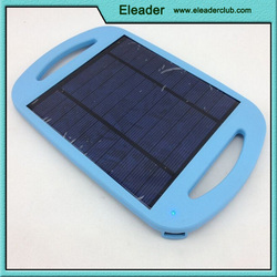 Solar usb charger pad for iphone samsung