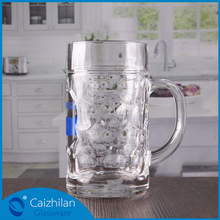 1 litre beer glass mug, customized german beer glass, cup glass beer