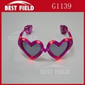 party valentine's day heart led sunglasses