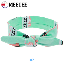 High-quality fashion colorful baby <strong>headband</strong> cute rabbit ears elasticity <strong>headband</strong>