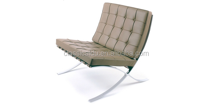 Barcelona chair replica chaise lounge chair leather lounge for Barcelona chair replica schweiz