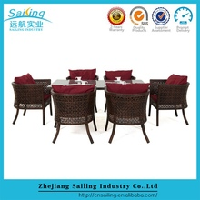 Cube 6 Seater Rattan Garden Dining Table And Chairs Set With Cover