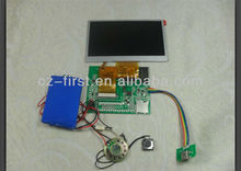 7 INCH TFT LCD Color Screen Video Module For Greeting Card