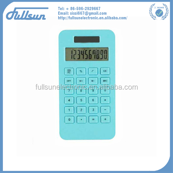 chinese calculator small recycle corn plastic calculator FS-2158