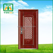 YMF-706 Top Quality New Style Steel Wooden Security Armored Door