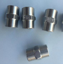 NPT Thread Stainless Steel Hex Nipple/ Hexagon Nipple SS304